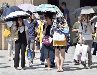 猛暑の日本列島:熱中症、3連休...