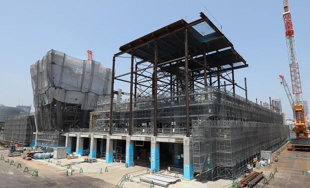 8 - 【東京五輪】東京都が競技会場と選手村を公開 工事進捗率20〜40%