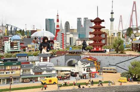 In Photos: Legoland Japan aims to lure visitors with discounted tickets