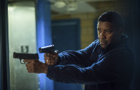 This image released by Columbia Pictures shows Denzel Washington in a scene from