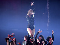 Singer Taylor Swift performs during her Reputation tour at MetLife Stadium on July 20, 2018, in East Rutherford, N.J. (Photo by Evan Agostini/Invision/AP)