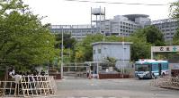 端本悟死刑囚らの刑が執行された東京拘置所=東京都葛飾区で2018年7月26日午前8時50分、長谷川直亮撮影