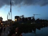 湖上を舞台に繰り広げられるプッチーニ音楽祭