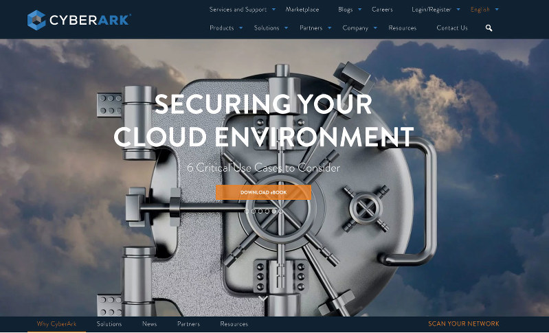 起業大国イスラエルで生まれたサイバーアーク・ソフトウエアのホームページ