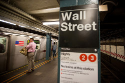 遅延が多いニューヨークの地下鉄(Bloomberg)