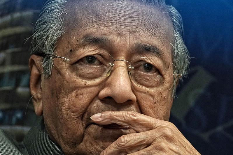 マレーシアのマハティール首相(Bloomberg)