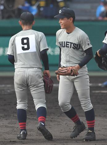 夏の高校野球:山本と山田…中越...