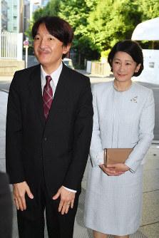 Prince Akishino and his wife Princess Kiko are seen in this July 31, 2018 file photo. (Mainichi)
