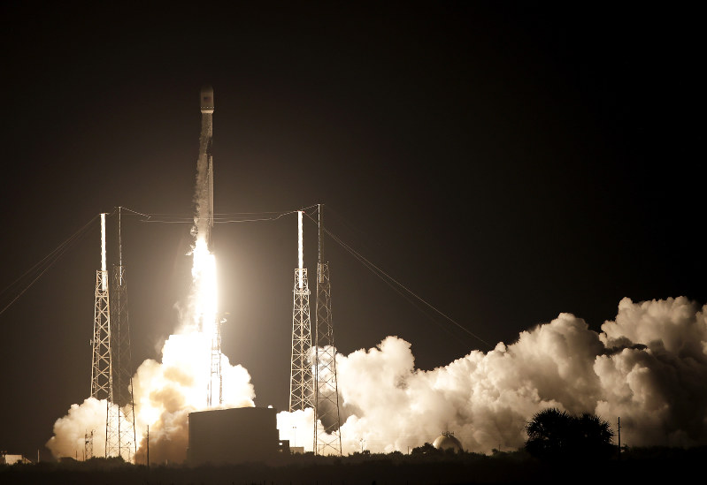 SpaceX launches Indonesian comsat with 'used' booster