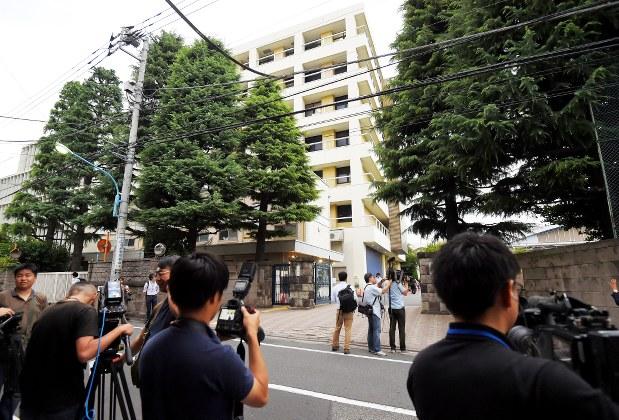 東京医科大=東京都新宿区で2018年7月4日、手塚耕一郎撮影