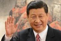 中国の習近平国家主席=2012年11月、隅俊之撮影