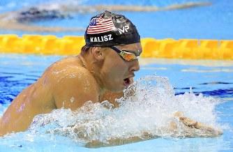 競泳:パンパシフィック選手権 4...