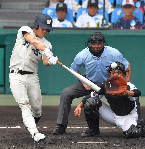 夏の高校野球:左打者7人の創志学園「左投手に弱くない」 - 毎日新聞