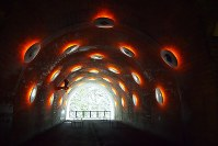 MADアーキテクツが改修した清津峡渓谷トンネルの見晴らし台=永田晶子撮影