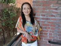 「おクジラさま ふたつの正義の物語」を制作した佐々木芽生監督=米ロサンゼルスで2018年8月14日、長野宏美撮影