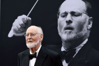 In this June 9, 2016 file photo, composer John Williams poses on the red carpet at the 2016 AFI Life Achievement Award Gala Tribute to John Williams at the Dolby Theatre in Los Angeles. (Photo by Chris Pizzello/Invision/AP, File)