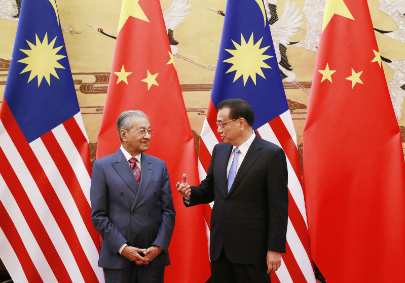 Malaysian PM Rejects Chinese 'Belt and Road' Projects