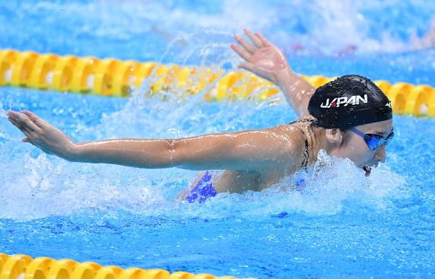 アジア大会:池江4冠…100バタ、大会新 競泳女子 - 毎日新聞