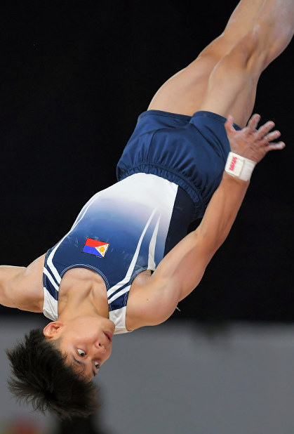 Top Filipino gymnast trains in Japan as he looks ahead to 2020 Tokyo
