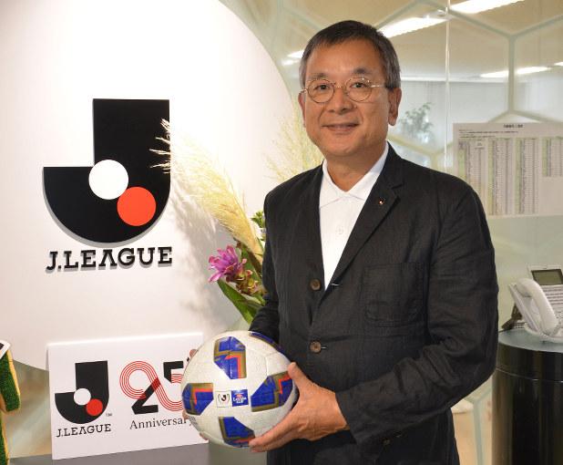 「世界から選手育成術を学びたい」と語る村井満・Jリーグ・チェアマン