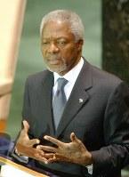 コフィ・アナン氏 80歳=第7代国連事務総長(8月18日死去)