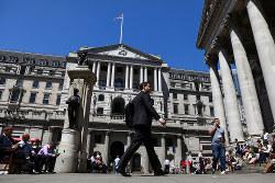 ロンドンの金融街シティー。日本の金融機関も拠点の移転を決めている(bloomberg)