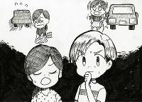 え・田中茉央さん(和歌山市立和歌山高校2年)