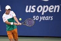 【男子シングルス1回戦】世界ランキング50位のマクシミリアン・マルテラー(ドイツ)に6-2、6-2、6-3でストレート勝ち。2年ぶりに2回戦へ=ロイター