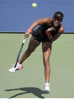 【女子シングルス2回戦】予選を勝ち上がったユリア・グルシュコ(イスラエル)と対戦。6-2、6-0で、わずか50分で退けた=ロイター