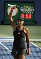 【女子シングルス3回戦】世界ランキング33位のアリャクサンドラ・サスノビッチ(ベラルーシ)に6-0、6-0で快勝=AP