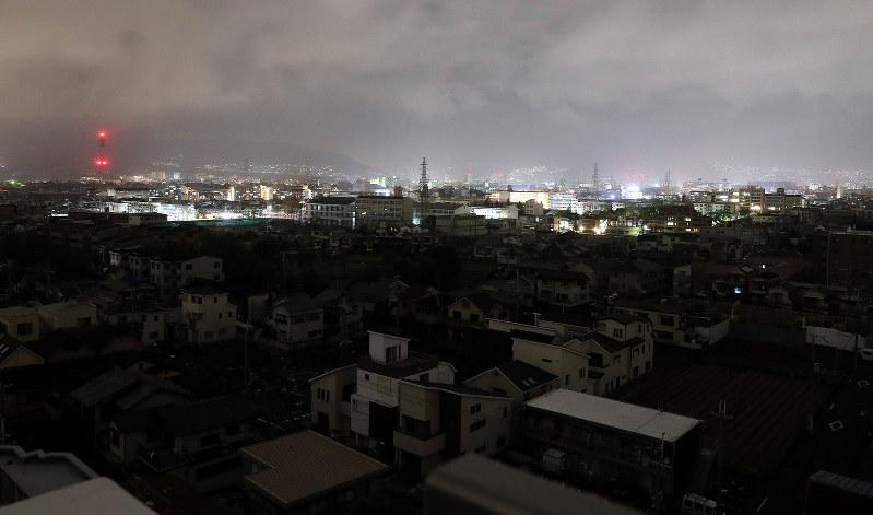 台風21号:関西電力で停電218万...