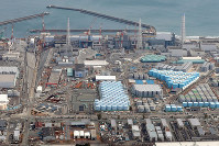 The Fukushima No. 1 Nuclear Power Plant is seen in this Feb. 15, 2018 file photo. (Mainichi)