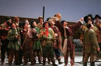マリインスキー劇場のオペラ「さまよえるオランダ人」のリハーサル=東京都内で2000年1月、米田堅持撮影