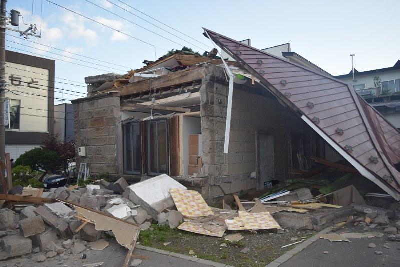 แผ่นดินไหวฮอกไกโด