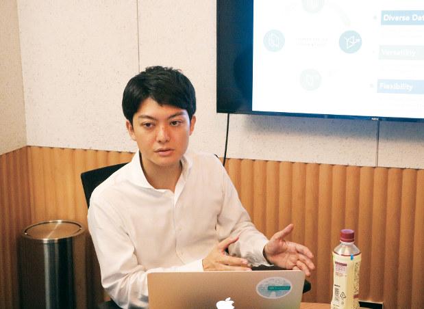 スマートドライブの北川烈社長