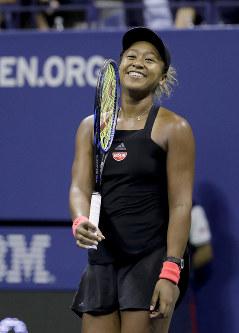 【女子シングルス準決勝】セリーナと対戦する決勝に向けて「緊張しているけど、わくわくしている」とコメント=AP