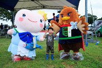 第17戦、渡良瀬遊水地フェスティバルではさまざまなイベントが催された=JBCF提供