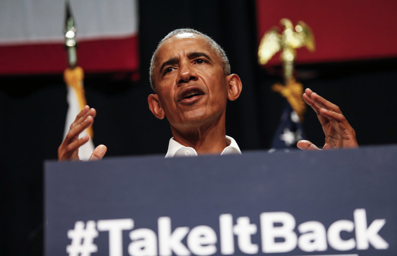 Obama in campaign mode, back to promoting hope over fear