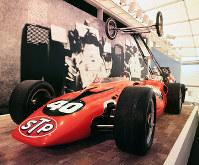アメリカ館 インディアナポリス500マイルレースのレーシングカー=1970年3月10日