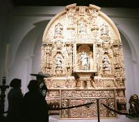 メキシコ館 聖ジョセフの祭壇=1970年