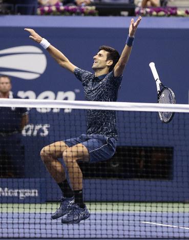 全米テニス:ジョコビッチ優勝…3...