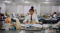 大阪営業本部へ異動する直前の長南収さん=本人提供