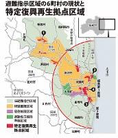 避難指示区域の6町村の現状と特定復興再生拠点区域