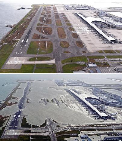 台風21号:1週間 浸水関空、視界不良 国際便の復旧1割 - 毎日新聞