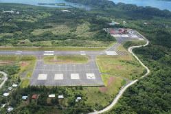 双日が運営するパラオ空港 双日提供
