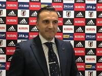 フットサル日本代表メンバーを発表したブルーノ・ガルシア監督