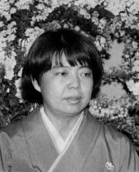 女優の樹木希林さん=1987年撮影