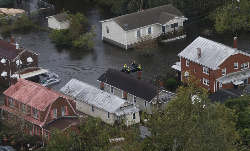 Floodwaters rise as killer storm stalks southeastern US