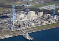 The Tomato-Atsuma Thermal Power Plant is seen in the town of Atsuma in southern Hokkaido on Sept. 12, 2018. (Mainichi/Naotsune Umemura)