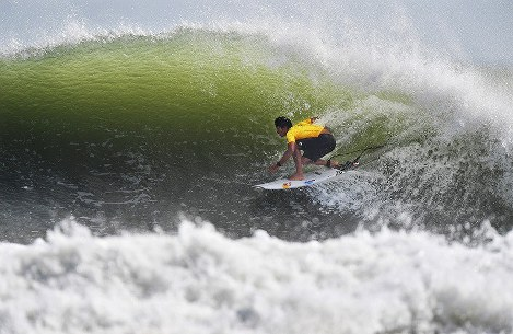 In Photos: World Surfing Games held at Long Beach, Japan